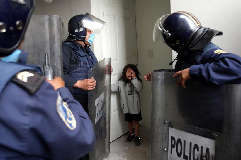 © Alfredo Domínguez/ La Jornada. Cortesía: Expofotoperiodismo 2010