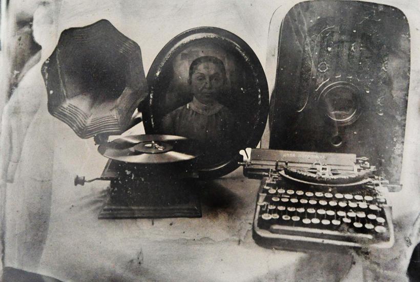 La historia de la abuela. Ferrotipo © Jesús Romero