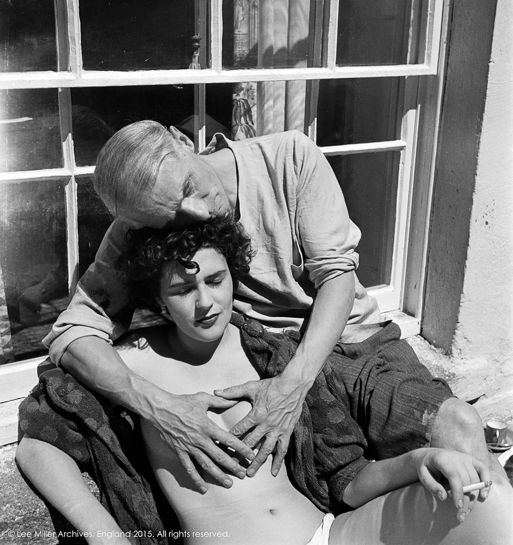 Leonora Carrington y Max Ernst © Lee Miller Archives, Inglaterra 2015. todos los derechos reservados