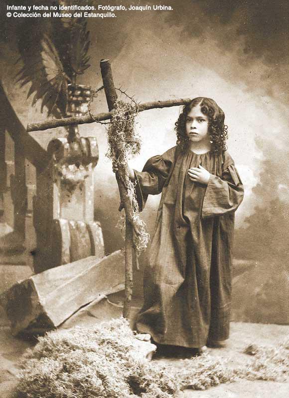 Infante y fecha no identificados. Fotógrafo, Joaquín Urbina. Colección del Museo del Estanquillo.