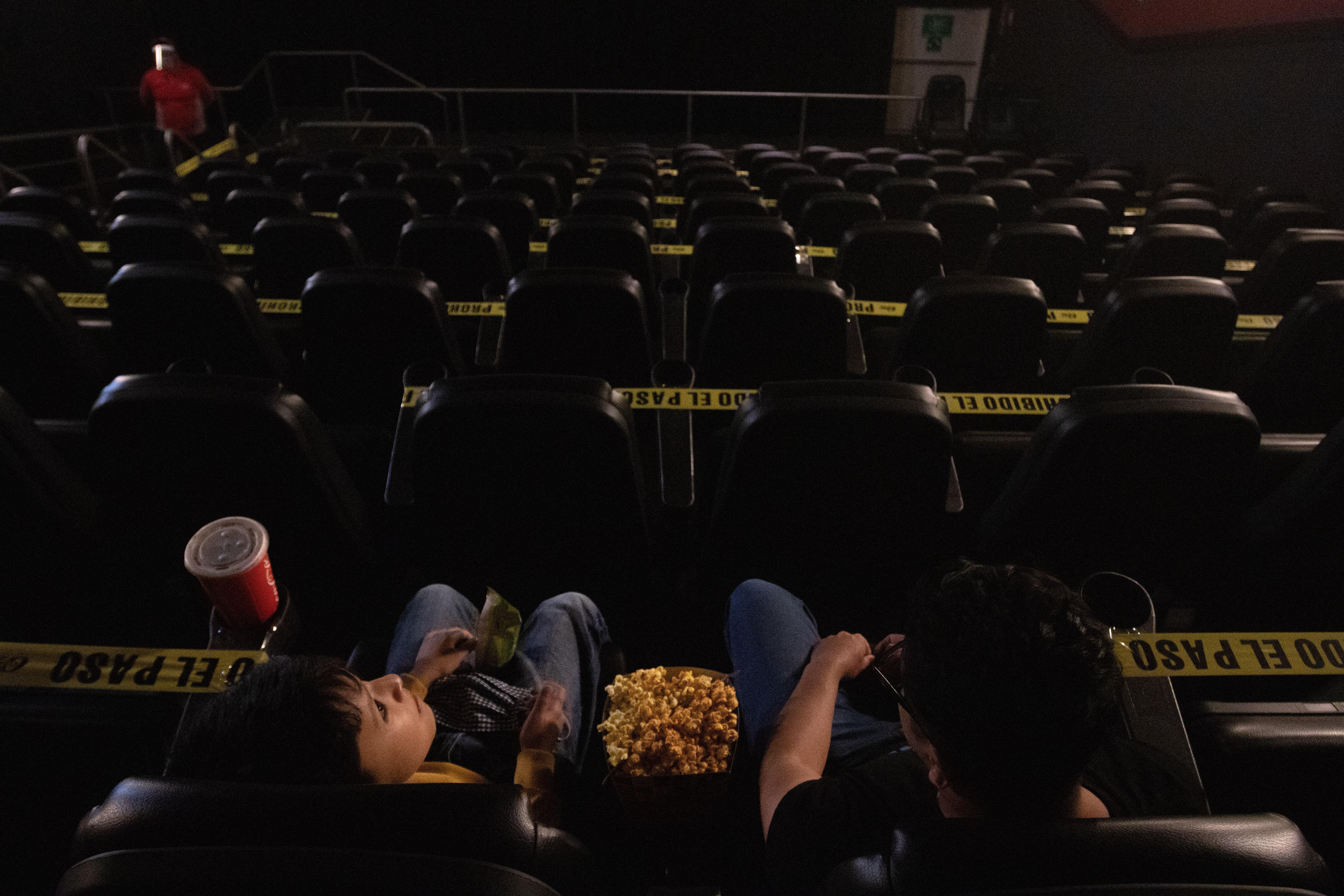 Las salas de los cines de la Plaza Antara fueron reabiertas a partir de hoy en un 30% de su capacidad
